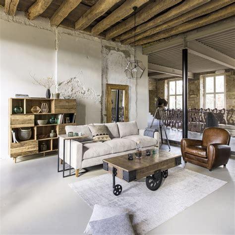 canape  places en velours cotele gris clair holden maisons du monde
