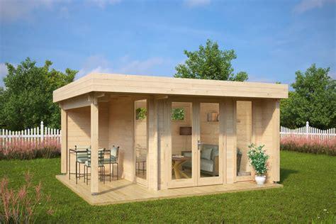 Mini Gartenhaus Holz gartenhaus mini hansa lounge 9m2 44mm 3x3 hansagarten24