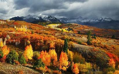 Colorado Landscape Fall Mountain Forest Wallpapers Nature