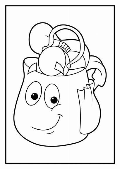 Coloring Diego Pages Rescue Pack Dora Homepage