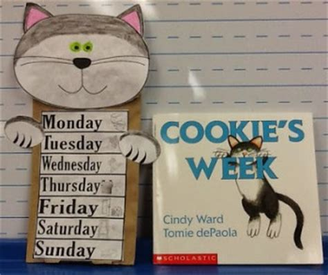 cookies week puppet  activities  homeschool
