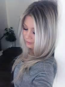 Ombre Ash Blonde Hair