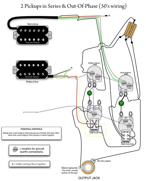 gibson 57 classic 4 conductor wiring diagram