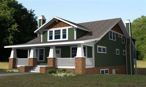 2 craftsman house plans 2 craftsman bungalow house plans second