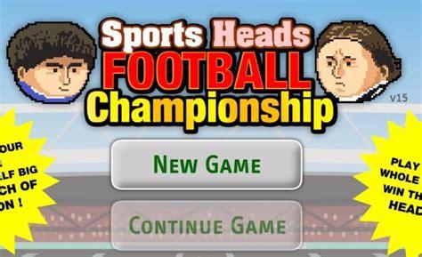 football heads unblocked games  school games world