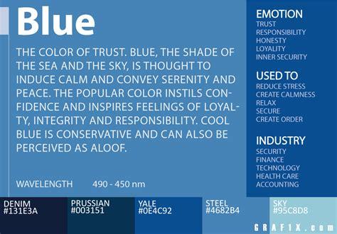 color meaning  psychology grafxcom