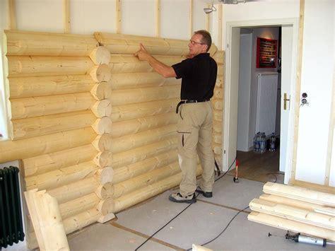 Wände Mit Holz Verkleiden by Blockwand Gem 252 Tlich Warm Und Gesund