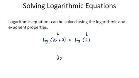 worksheets solving logarithmic equations worksheet pdf