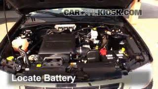 battery replacement   ford escape  ford