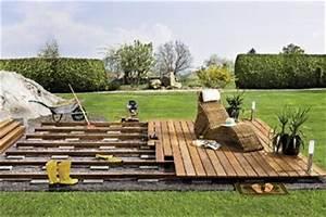 construire sa terrasse en bois With faire sa terrasse en bois