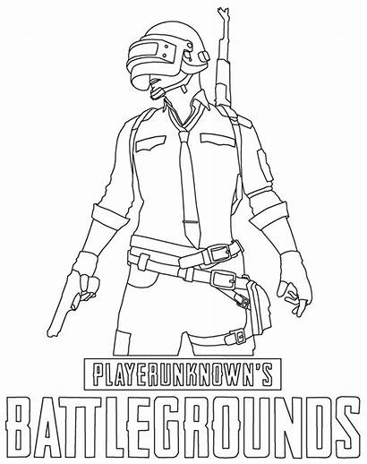 Pubg Coloring Pages Printable