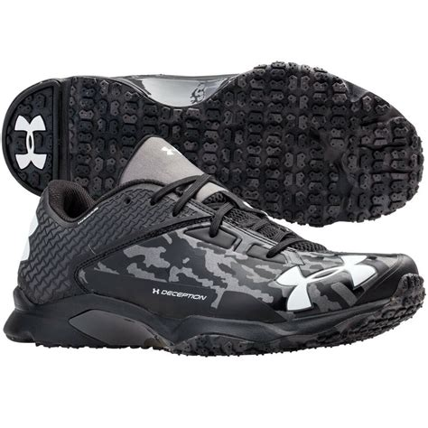 armour mens deception baseball trainer shoe turf
