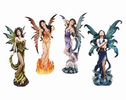 Fairy Elemental Fire Earth Wind Sprite Water