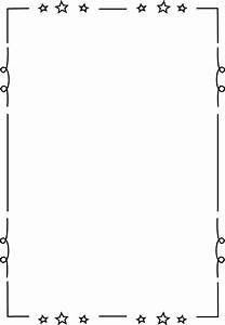 free printable clip art borders for teachers | Loopy Star ...