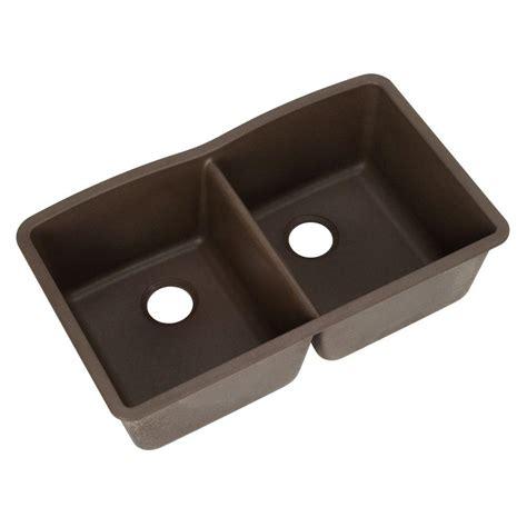 kitchen sinks undermount granite composite blanco undermount granite composite 32 in 0 hole