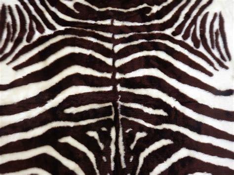 faux skin rug faux fur zebra hide rug from 3 x 5 brown white