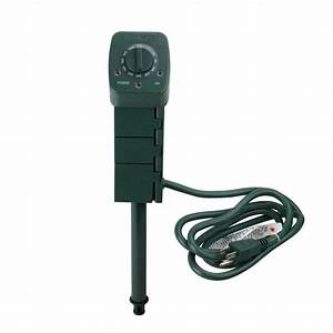 Stanley 3 Outlet Outdoor Timer Instructions