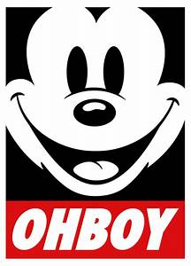 obey mickey mouse swag | Tumblr