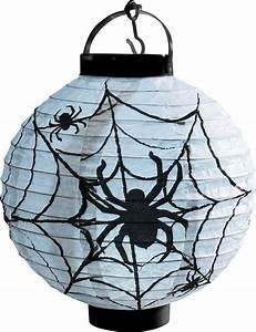 Lampions Mit Led : leuchtender halloween spinnennetz lampion mit led ~ Watch28wear.com Haus und Dekorationen