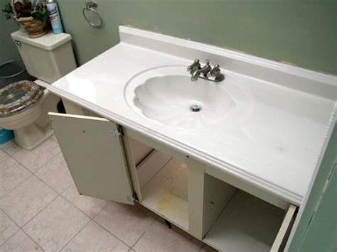 installing a bathroom vanity sink how to install a new