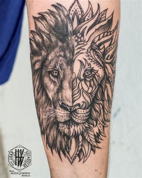 Les 25 Meilleures Idées Concernant Tatouage Lion Sur