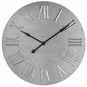 Horloge Murale Maison Du Monde : horloge zinc maisons du monde ~ Teatrodelosmanantiales.com Idées de Décoration