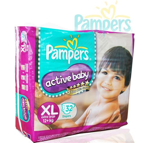 Wholesales Diapers Pampers Ccactive Baby Xl 32s
