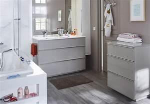 bricolage jardinage et amenagement de la maison castorama With carrelage adhesif salle de bain avec reglette led à piles