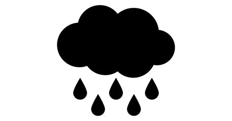 home design plans black cloud with raindrops falling free