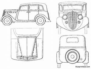 Willy Soverland Sedan 1935 Plans