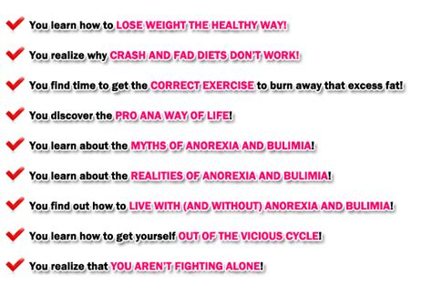 thinspo tips to lose weight