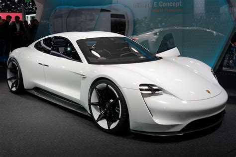 porsche electric porsche announced it wants half of its cars to be electric