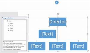 How To Create An Organization Chart Using Smartart In Word