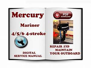 Mercury Mariner Outboard 4 5 6 Hp 4