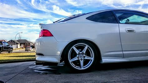 my 2005 acura rsx type s this babe needs new shoes for