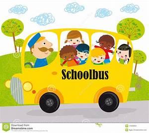 School Bus Children Stock Images - Image: 17849994