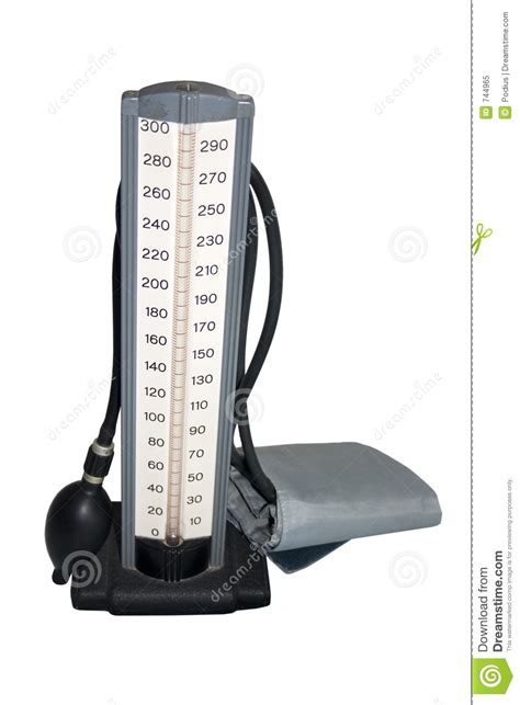 Old Blood Pressure Cuff Royalty Free Stock Photo - Image