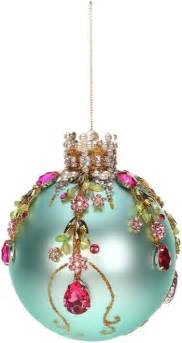 mark roberts christmas ornaments king s jewel collection jeweled ornaments floral ornament