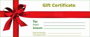 Gift Certificate Templates to Print | Activity Shelter