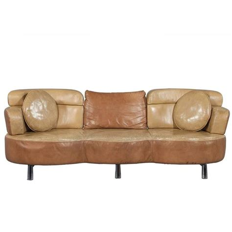 32095 furniture leather original original retro leather sofa circa 1960 for at 1stdibs