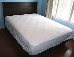 king mattress protector bedbug waterproof zippered With encasement covers