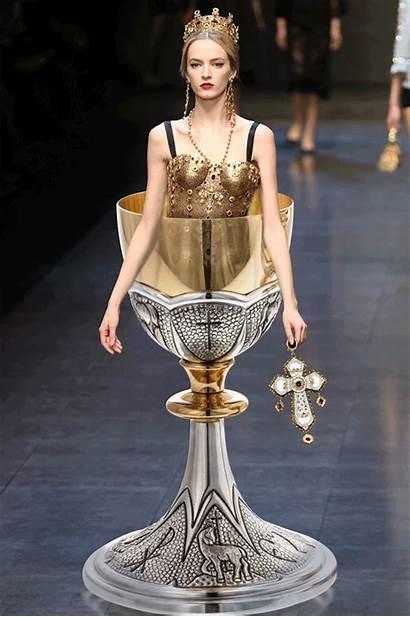 Dolce Gabbana Rtw Fall Fashgif Couture Mode