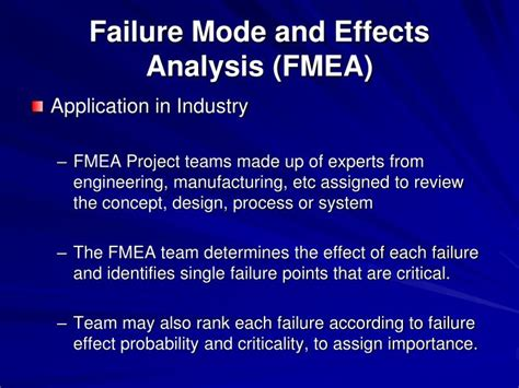 process failure modes and effects analysis ppt failure modes and effects analysis fmea r larson