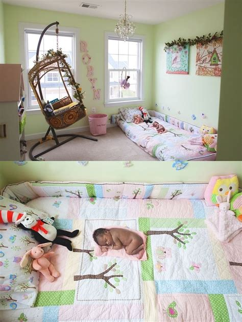 24703 toddler floor bed new born photo session in baby s montessori inspired