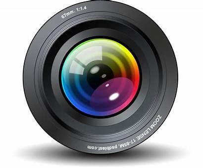 Camera Lens Transparent Cliparts Logos Vision Machine