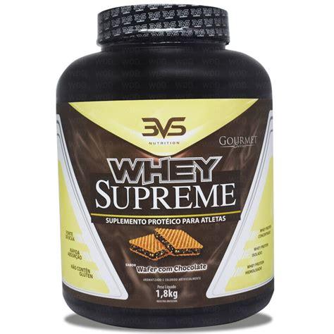 supreme whey protein whey supreme 1 8kg 3vs nutrition