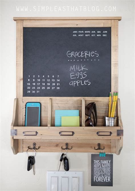 kitchen calendar organizer budget friendly family command center 3307