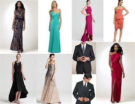 dress gown fascinating semi formal wedding attire ideas