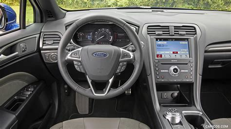 ford fusion sport ecoboost awd interior cockpit