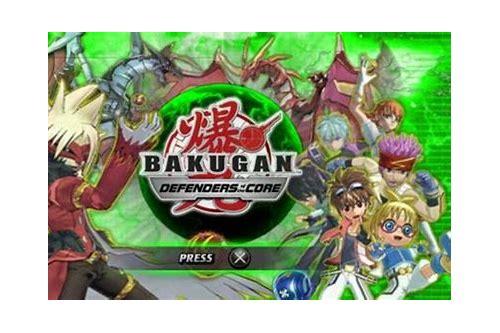 baixar jogo bakugan battle brawlers psp rom
